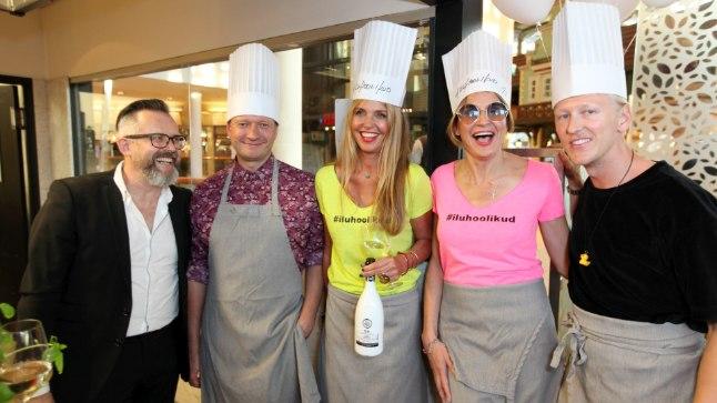 Vapiano restorani hoogne 10. sünnipäevapidu Solarises