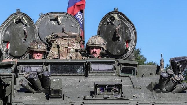 Briti tankid Eestis