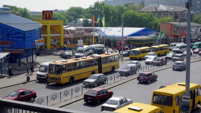 Vaade Kiievi turule.