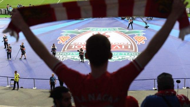 Liverpooli toetaja Kiievis.