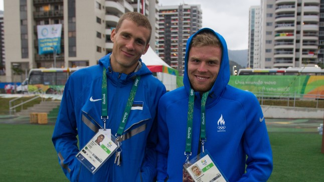 Maicel Uibo (vasakul).