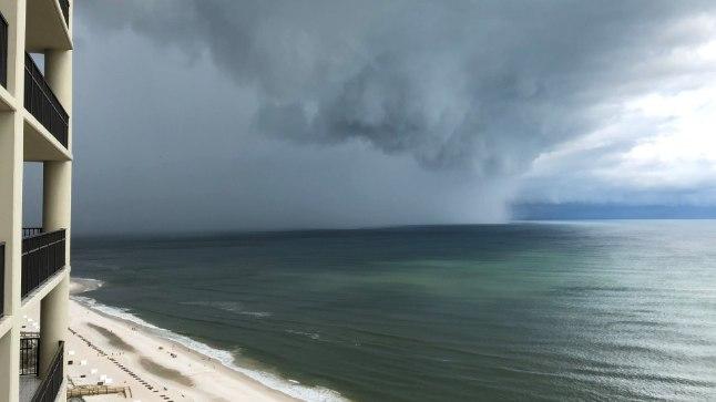 Subtroopiline torm Alberto USA Mehhiko lahe rannikul