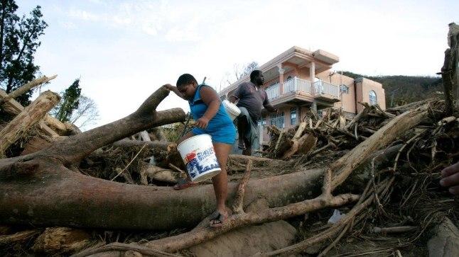 Orkaan Maria Puerto Ricol