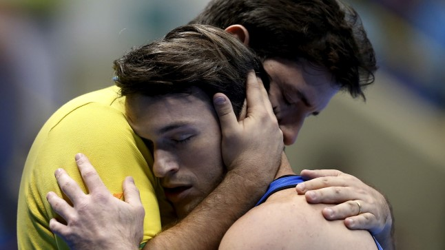 Fernando de Carvalho Lopes (vasakul) koos Diego Hypolitoga.