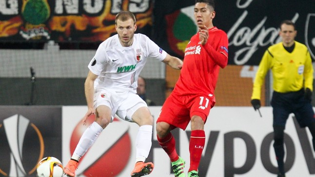 Tänased klubikaaslased Ragnar Klavan ja Roberto Firmino mängisid veidi enam kui kaks aastat tagasi teineteise vastu.