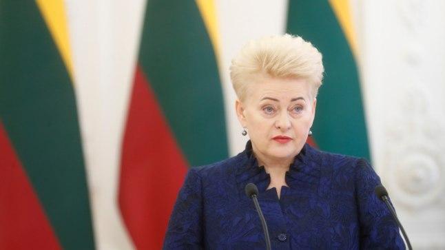 Leedu president Dalia Grybauskaite