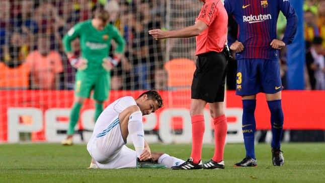 Cristiano Ronaldo hüppeliigesevigastus osutus kergeks.