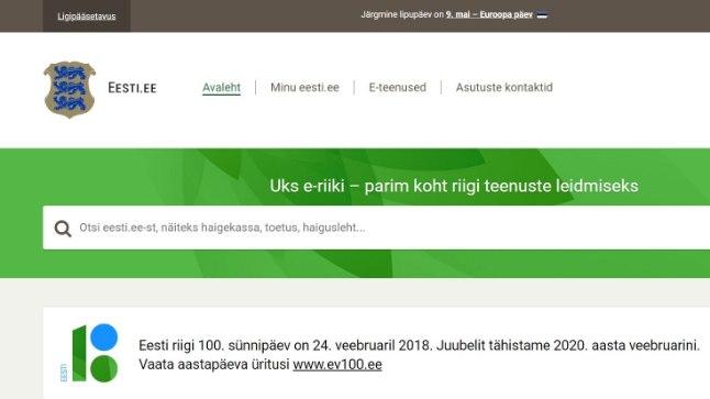 Riigiportaal eesti.ee