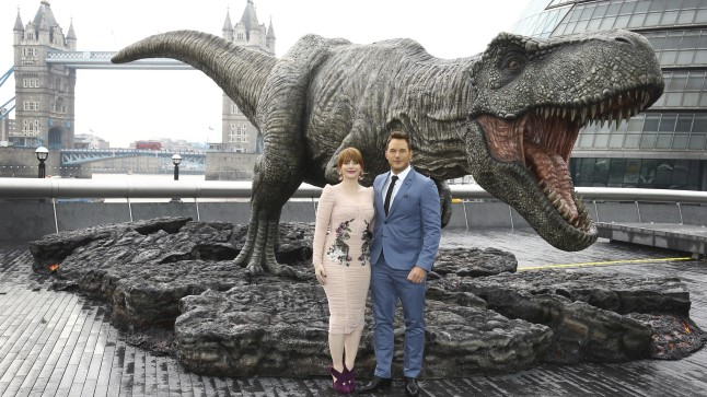 Chris Pratt (paremal) ja Bryce Dallas Howard