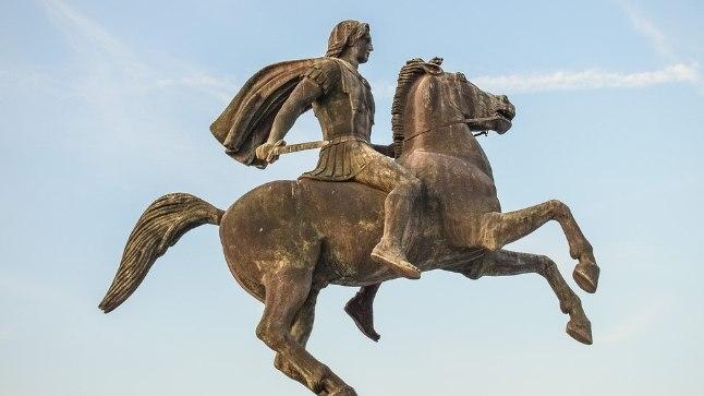 Памятник Александру Македонскому. И как теперь величать известного завоевателя?