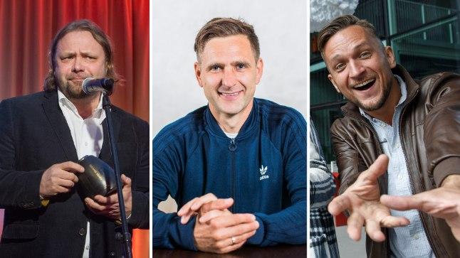 """""""Eesti laulu"""" produtsendikandidaadid. Vasakult: Danel Pandre, Tomi Rahula ja Jarmo Seljamaa."""
