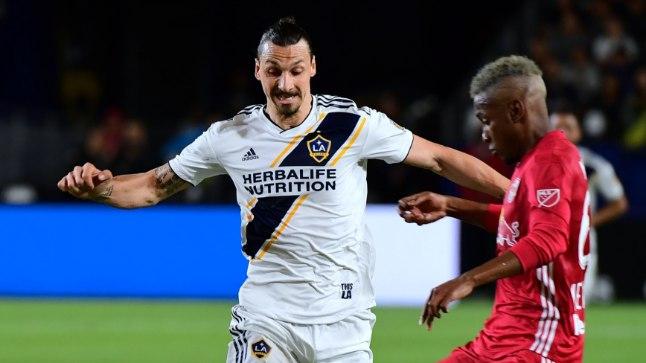 Zlatan Ibrahimović mängib klubijalgpalli LA Galaxy´s
