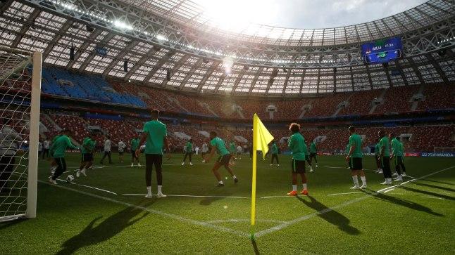 Jalgpalli MMi avamäng peetakse Moskvas Lužniki staadionil.