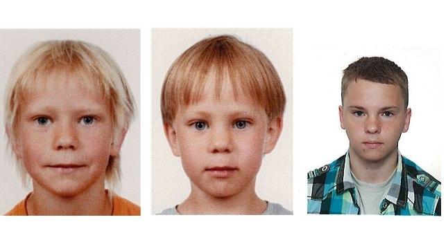 Vasakult: Filipp Žukov, Mark Žukov, Markkus Ansberg