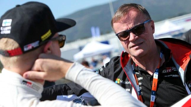 Toyota rallitiimi boss Tommi Mäkinen.
