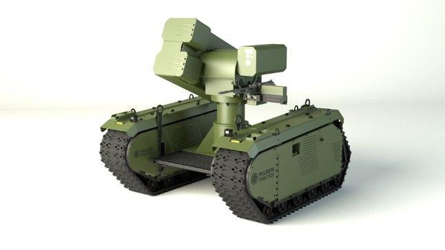 SÕJARAUD: eestlaste leiutisest arendati tankitõrjerobot
