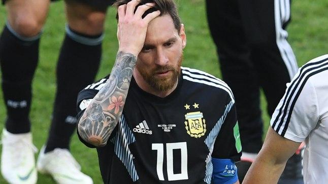 Penaltil eksinud Lionel Messi kaotas Argentina koondisega samamoodi punkte.