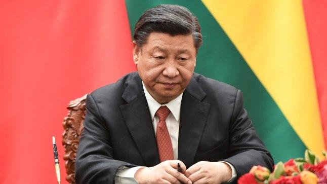 Hiina presdident Xi JInping