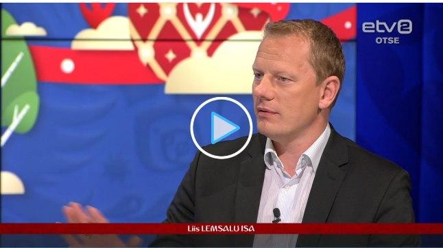Liis Lemsalu isa, tuntud ka kui jalgpallur Marek Lemsalu
