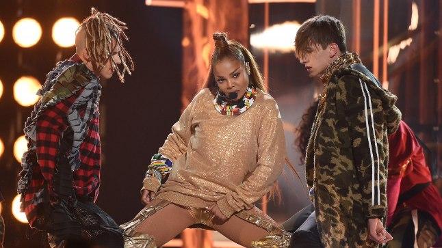 Janet Jackson Billboardi muusikaauhindade galal.