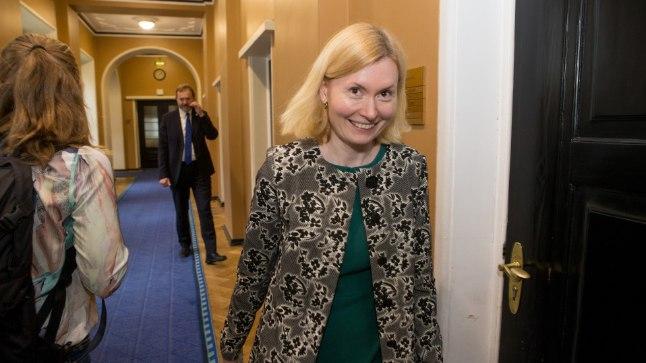 Tervise- ja tööminister Riina Sikkut.