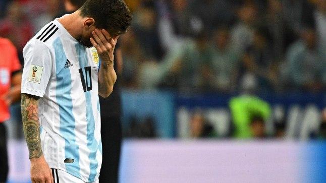 Lionel Messi pettunud nägu Eesti televaataja lõpuvile kõlades ei näinud.