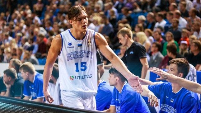 Maik-Kalev Kotser tegi neljapäeval Eesti koondises debüüdi.
