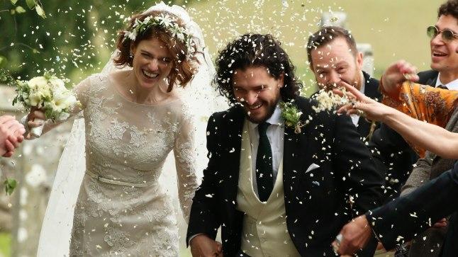 Kit Harington ja Rose Leslie abiellusid