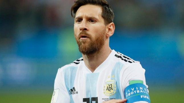 Lionel Messi on MMi tõttu langenud tohutu surve alla.