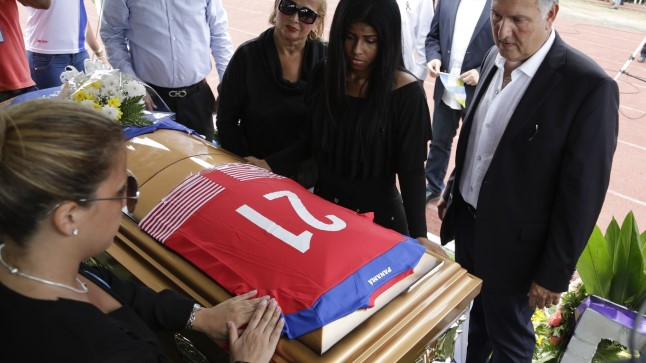 Amilcar Henriquezi matused.