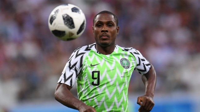 Odion Ighalo.