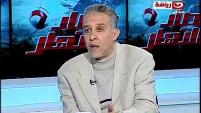 Abdel Rahim Mohamed tööpostil.