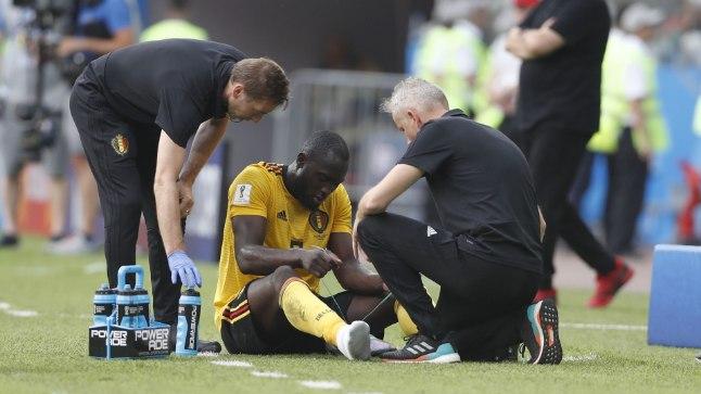 Lukaku vigastus paneb belglased muretsema.