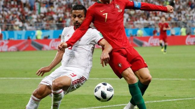 Cristiano Ronaldo punase kaardi olukord.