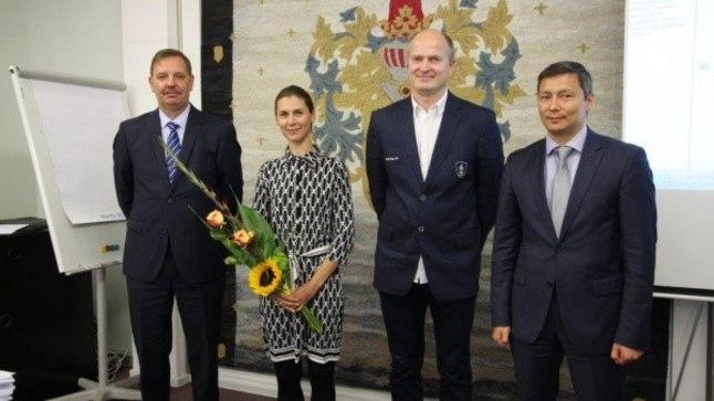 Irina Embrich ja Kaido Kaaberma sai Tallinna linna käest kiita ka möödunud aastal.