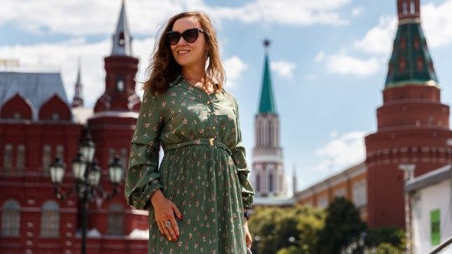 KODULINN. Giid Natalja on elu aeg Moskvas elanud ja tunneb linna nagu oma viit sõrme.