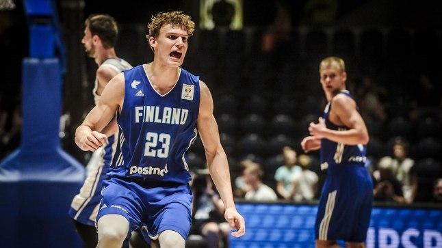 Lauri Markkanen ei suutnud Soomet võidule viia.