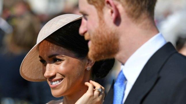 Prints Harry ja tema abikaasa Meghan.