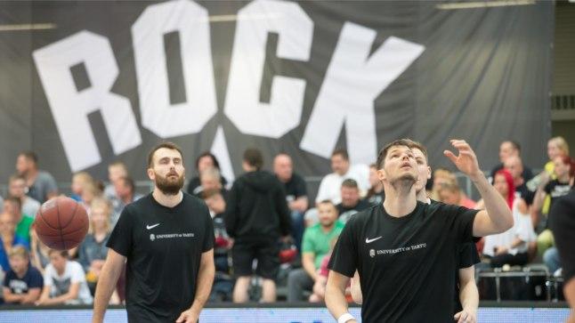 Tartu korvpallifännide jaoks jäi meeskond ikka Rockiks. Nüüd saab öelda, et läks trumm (Rock) ja veidi hiljem ka pulgad.