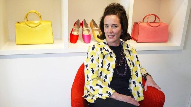 IMELINE EDULUGU: Endisest USA naisteajakirja Mademoiselle moetoimetajast Kate Brosnahanist kujunes maailmakuulus moekunstnik Kate Spade (pildil 2004. aastal), kelle disainitud kotid ja kingad olid naiste silmis ihaldusväärsed.