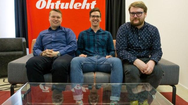 Täna olid stuudios Karl Juhkami (vasakult), Kasper Elissaar ja Siim Kera.