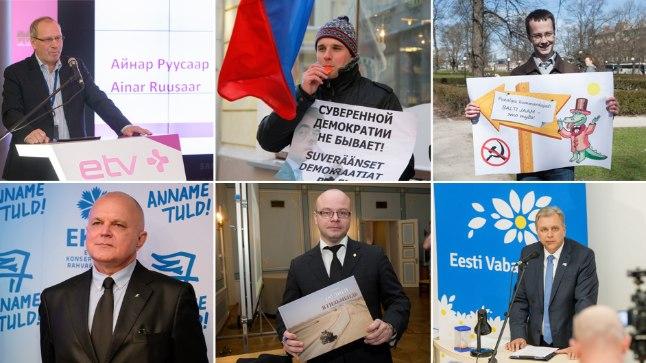 Ainar Ruussaar, Sergei Metlev, Jevgeni Krištafovitš, Urmas Reitelmann, Igor Kopõtin, Andres Herkel.