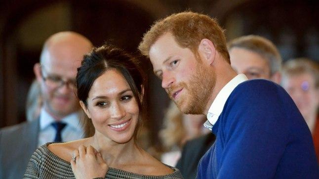 Prints Harry ja Meghan Markle tänavu jaanuaris.