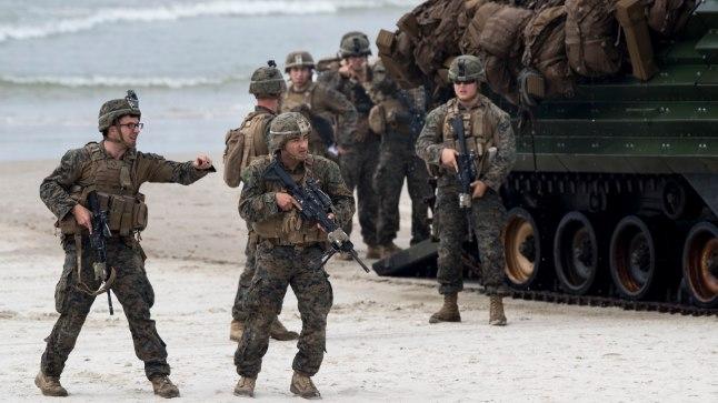 USA sõjaväelaste õppused Leedus. Illustreeriv foto