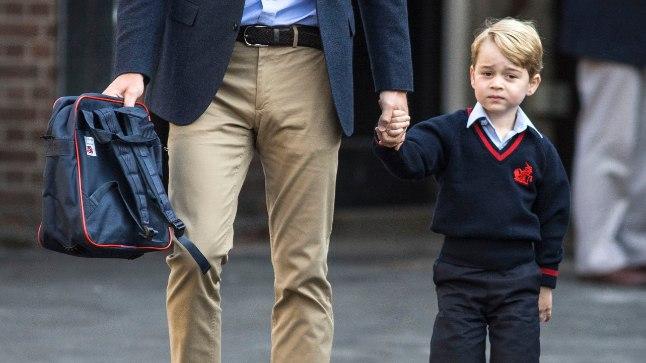 Prints George koos isa Williamiga.