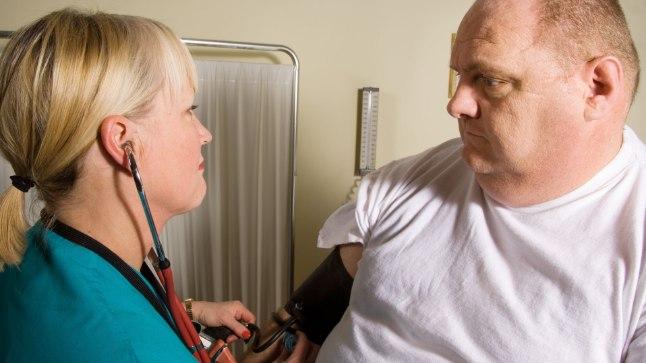 Mõnel inimesel tõstab vererõhku juba käik arsti juurde.