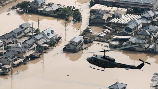 Masendav vaatepilt: üleujutused laastavad terveid elurajoone