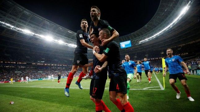 Pidustused alaku! Horvaatia on finaalis!