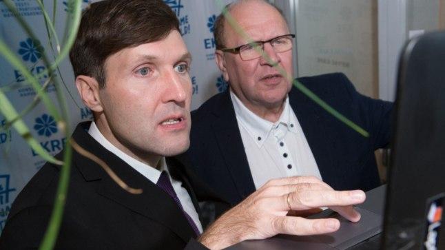 Мартин Хельме (слева)