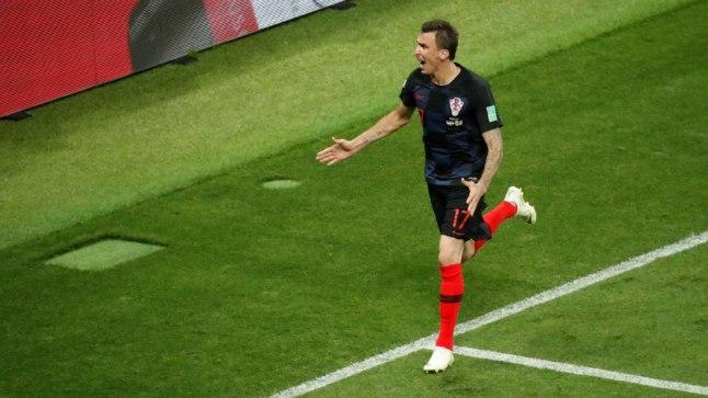 Mario Mandžukic tõusis horvaatide kangelaseks ja viis oma rahvuskoondise finaali.